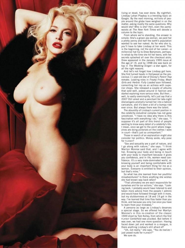 Lindsay Lohan Naked